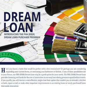 FHA Dream Loan Flyer image